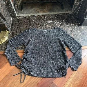 American Eagle Marble Knit Sweater Sz Large